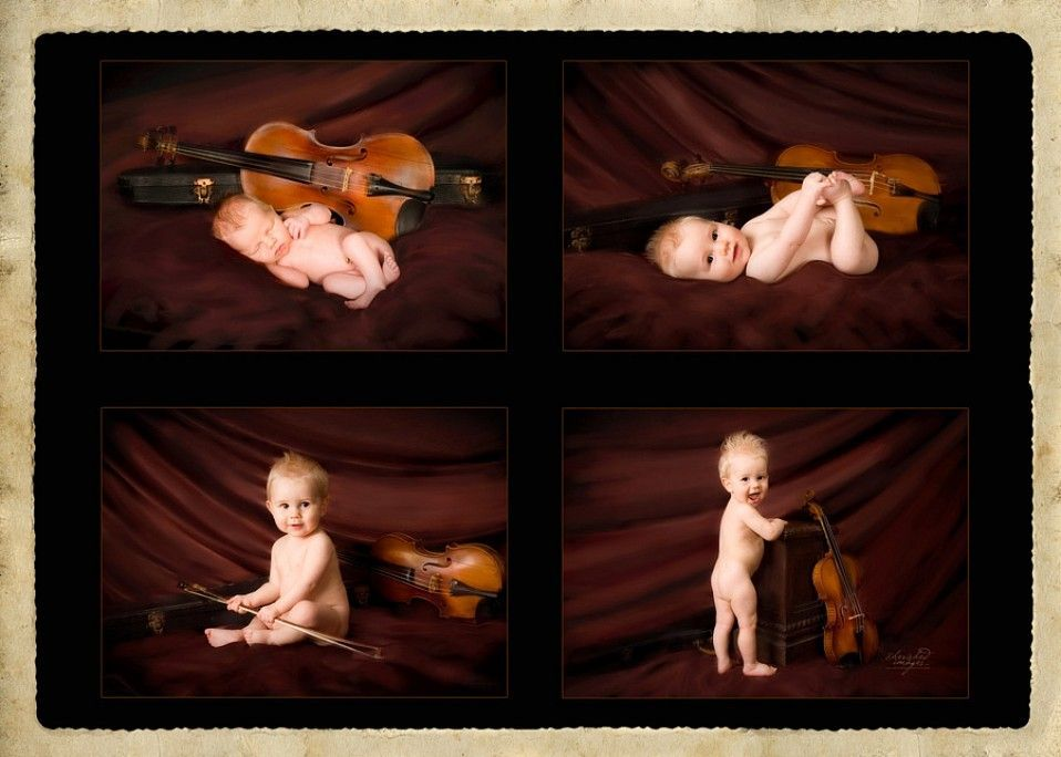 baby first year with violin