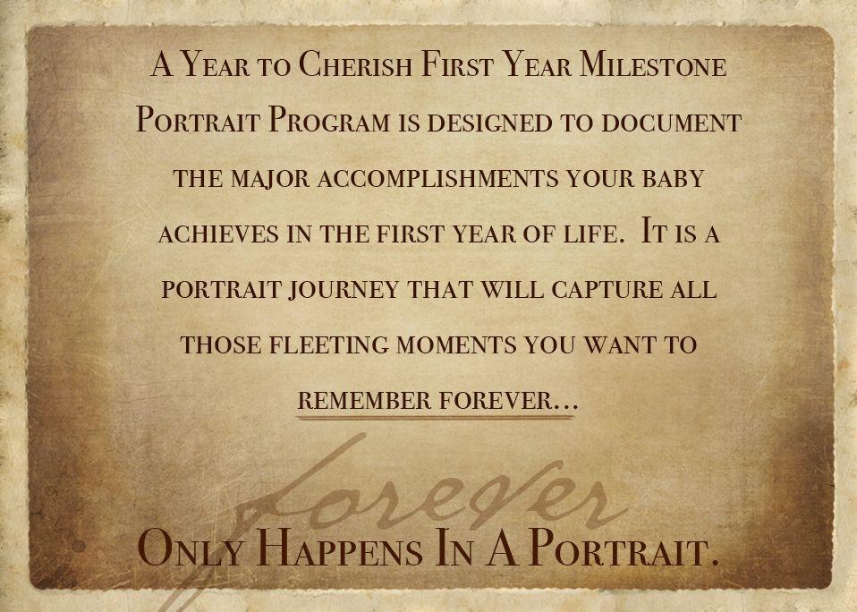 Year to Cherish promise