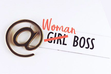 Woman Girl Lady Boss